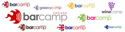 BarCamp logos in the mix
